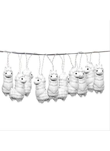 Dhink Dhink Alpacas String Zamanlayıcı Özellikli Dizili Led Lamba Renkli